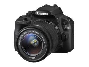 Canon EOS 100D med EF-S 18-55mm f/3.5-5.6 IS STM objektiv