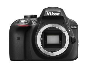 Kamera og objektiv. Nikon D3300