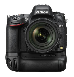 kameraudstyr, Nikon D610 med Nikon MB-D14 batterigreb